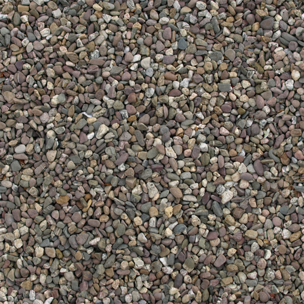 Seamlessly tileable pebble texture