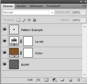 Photoshop layers of the carpet texture maker