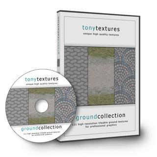 Professionelle Ground Textur Collection