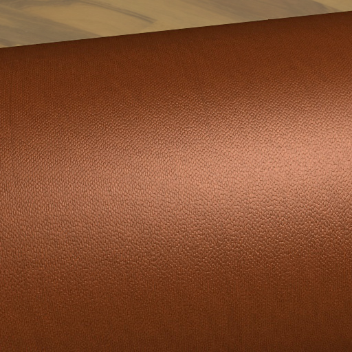 Final rendering example of leather texture
