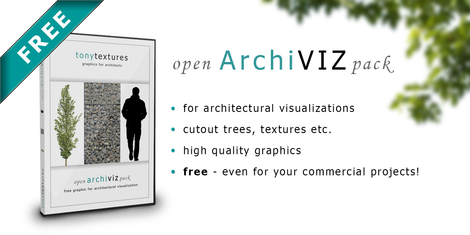 Open Archiviz Pack Free Download Graphic Collection