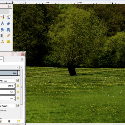 16_Blending_Tree_layer_with_Background_GIMP