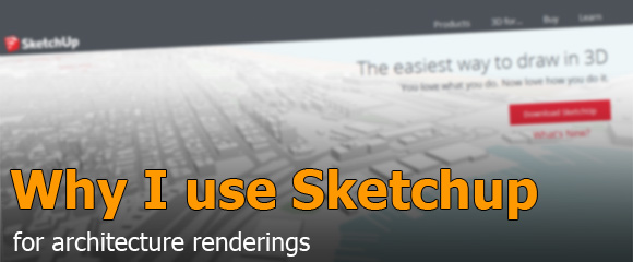 Sketchup for Architecture Visualization