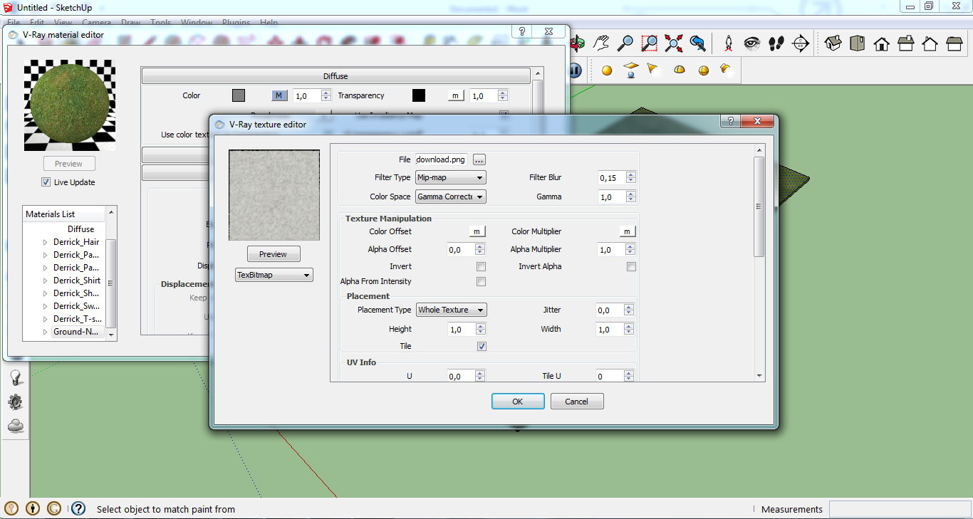 sketchup how to change lisanne