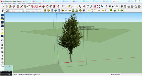 tree component shadows