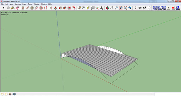 Generating tensile structure