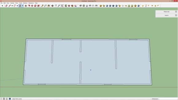 01. Import AutoCAD file to Sketchup_580