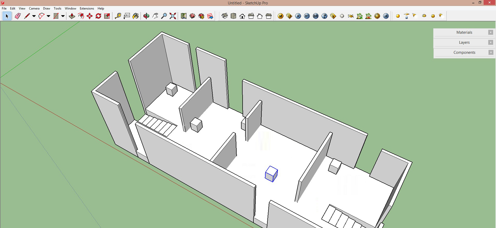 Architectural Drawing Window how to create a quick sectional architecture drawing in sketchup