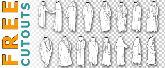 Free-Cutout-Arab-Arabic-Sheik-Architecture-Download