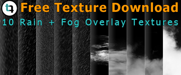 Free Overlay Textures for Rain + Fog Effects in Photoshop