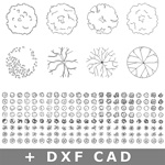 150-CAD-DXF-2d-plant-symbol-library-architecture