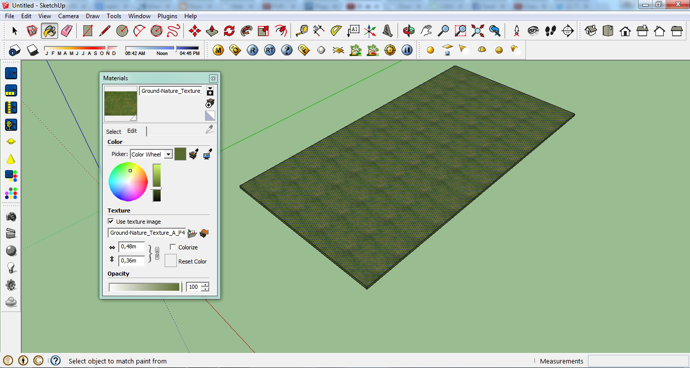 Architecture Rendering – Quick Realistic Grass in Sketchup