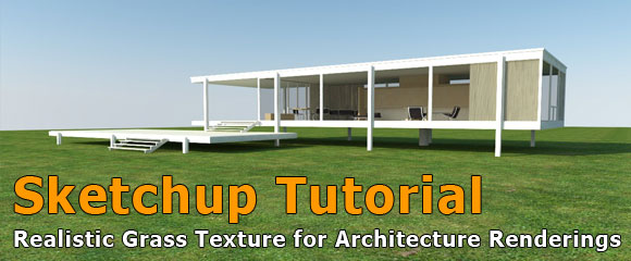 Sketchup Tutorial Architecture Grass Carpet