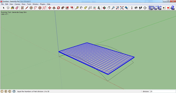 How to use Soap Bubble Sketchup Plugin