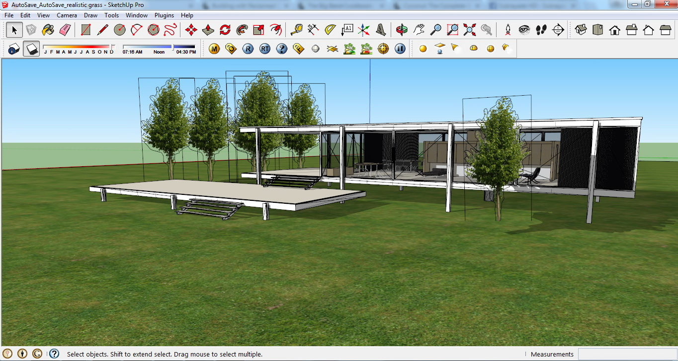 SketchUp Plugins for Architecture Modeling and Visualization