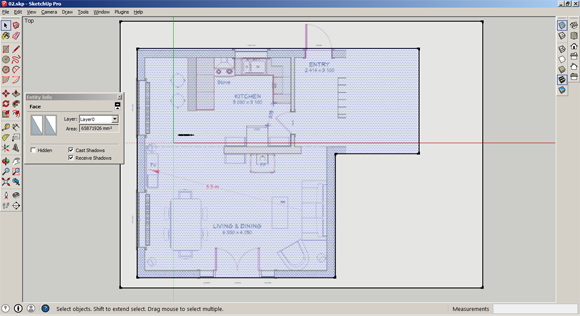 06_Create-Outline-in-sketchup_580