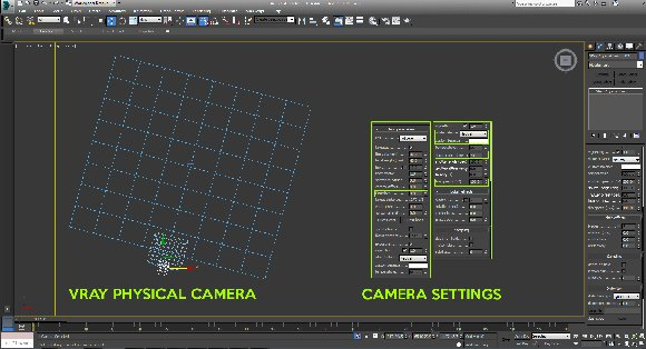 vray physical camera settings