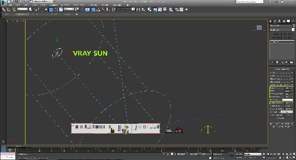 vray sund 3ds max architecture