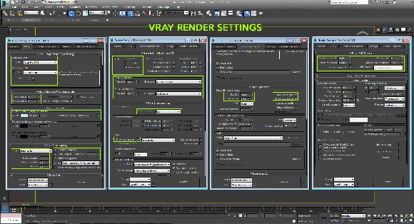 vray render settings architecture
