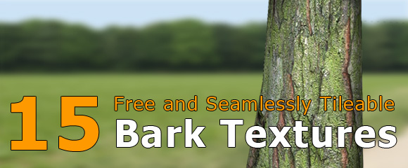 Download free bark texture for 3d trees