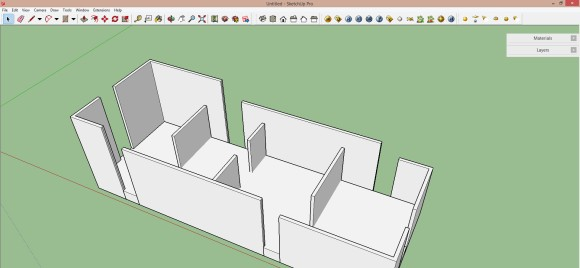03. Extrude and build the model_580