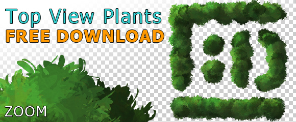Plant-Tree-Topview-cutout-Planview-PNG-Free-Download