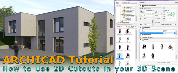 2D-Cutouts-in-3d-Model-Archicad-Tutorial