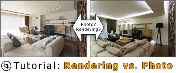 3DS MAX + Corona Tutorial: Architecture Rendering vs  Photo