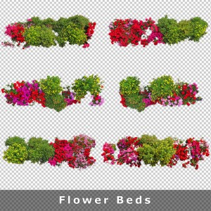 cutout-flower-beds-png-free-download