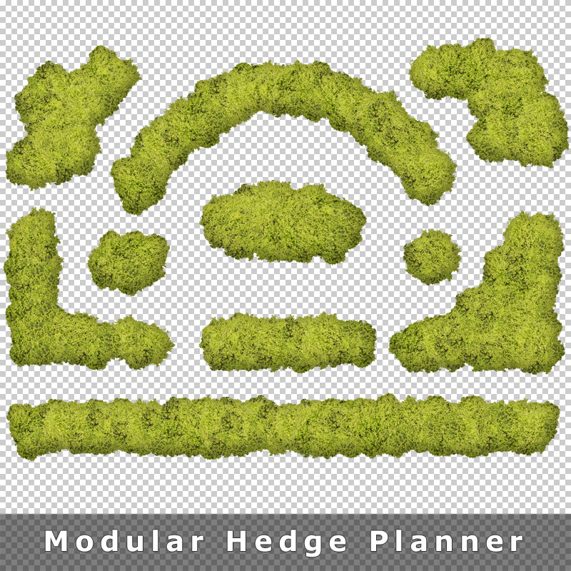 Top View Plants 02 2d Plant Entourage For Architecture