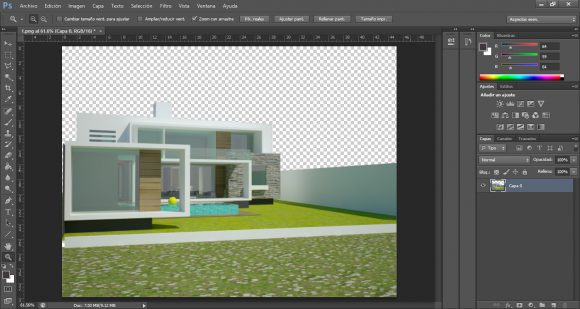 Tutorial Photoshop Post Production Architecture Visualization