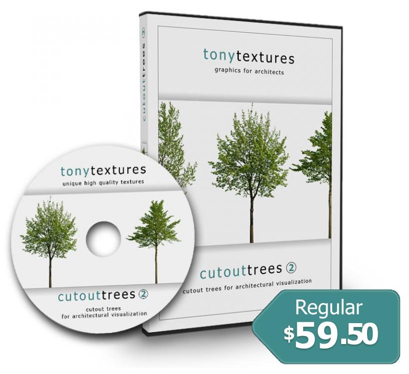 Cutout Trees V02 – Architecture Visualization